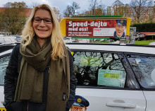 Anki, 44, först ut på speeddejting