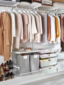 Kerääntyykö vaatekaappiisi käyttämättömiä vaatteita ja kenkiä?