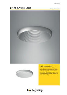 Pelée downlight
