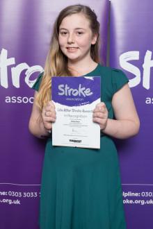 12–year-old Birkenhead stroke survivor receives regional recognition