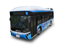 Toyota använder bränslecellsbuss i daglig trafik