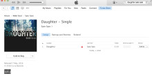 'DAUGHTER' Out Now On iTunes !