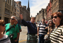 Scottish tourist guides launch new website