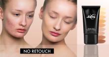 .FÄRG visar upp sin makeupkvalitét med oretuscherade kampanjbilder