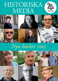 Historiska Medias utgivning 2015
