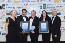 Local businesses celebrate at the Made in Bury Business Awards 2017