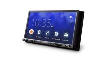 El último receptor AV Sony para coche con una pantalla más grande y conversión actualizada para smartphones