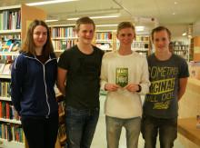 Gymnasieelever skriver bok om mat och miljö