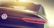 Volkswagen visar helt eldriven crossover i Shanghai