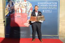 Kelly-Bag kommt für 22.800 Euro unter den Hammer