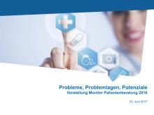 Präsentation Monitor Patientenberatung 2016