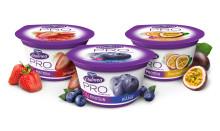 Nya Vitalinea PRO - en fantastiskt god yoghurtkvarg som är naturligt rik på protein