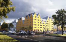 ByggVesta tar första spadtaget för 132 nya lägenheter i Uppsala