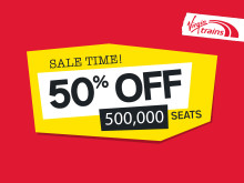 Grab a bargain with half a million discounted tickets on Virgin Trains