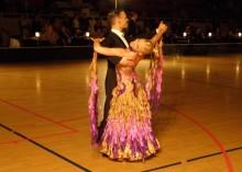 SM och JSM i Standard- och Latindanser avgörs i helgen.