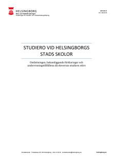 Studiero i Helsingborgs stads skolor