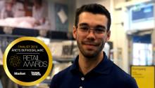 Josef Dayne kan bli årets butikssäljare på Retail Awards