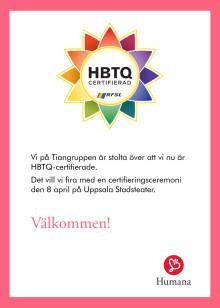Inbjudan: HBTQ-firande Tiangruppen