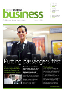London Midland Business - stakeholder newsletter March 2014