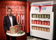 Invigning av Sveriges första förvaltningsbutik