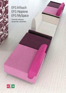 EFG Sohvaratkaisut moderneihin avotoimistoihin
