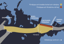 Besked om farledsfördjupning i Göteborgs hamn