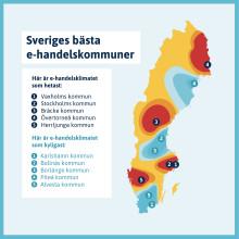 Sveriges bästa e-handelskommuner korade