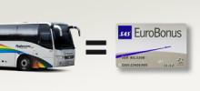 Flygbussarna ger SAS EuroBonus poäng