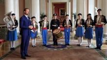 Kronprins Haakon på jubileumskonserten i Den Norske Opera & Ballet