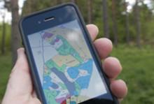 Nu är skogsbruksplanerna på väg att flytta in i mobilen