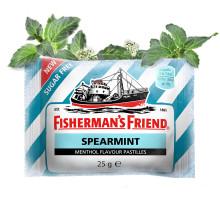 Ny smak från klassiska Fisherman´s Friend –  Stärker upp sortimentet med frisk Spearmint