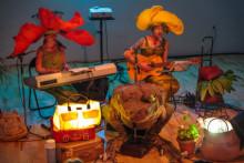Monsterklubben Deluxe – en musikföreställning och workshop med Hägerstens Botaniska Trädgård