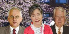 En biolog och två fysiker nya hedersdoktorer vid Chalmers
