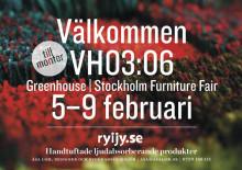 Åsa Lom, ung kreatör visar handtuftad inredningsdesign under Stockholm Furniture & Light Fair