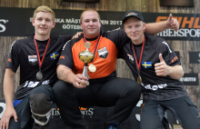 Jan Kamir nordisk rookiemästare i Timbersports