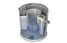 Kompakt minireningsverk för enskilda avlopp