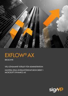 Elektronisk fakturahantering med ExFlow AX