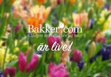 Bakker.com's nya hemsida är lanserad!