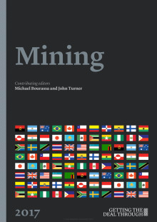 Getting the Deal Through - Mining 2017, Sweden