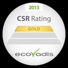 Toyota tilldelas EcoVadis Gold Level för arbetet med hållbarhet