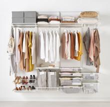 Hva gjør jeg med overflødige klær og sko som tar opp plass i garderoben?