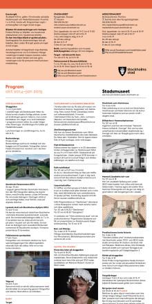Stadsmuseet & Medeltidsmuseet oktober 2014–januari 2015