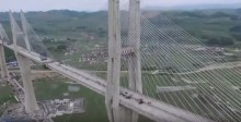 Video: World's first multi-span cable-stayed bridge opens