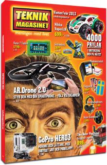 4000 prylar i Teknikmagasines nya katalog