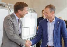 Fuglesang inviger Einar Mattssons innovativa studentbostäder