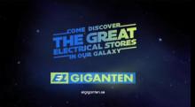 Star Wars upptäcker Elgiganten – the great electrical stores in our galaxy