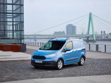 Täysin uusi Ford Transit Courier on luokkansa polttoainetaloudellisin ja kuormankantokyvyltään paras ajoneuvo