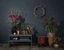 Interflora lanserar julkollektion i härligt brända toner