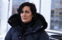 Hollywood-stjernen Carrie-Anne Moss til norske Wisting