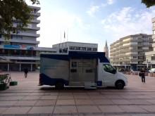 Beratungsmobil der Unabhängigen Patientenberatung kommt am 13. August nach Pforzheim.
